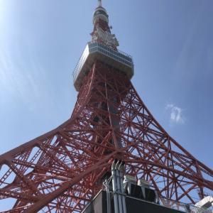東京タワー下のクレープやさん♡