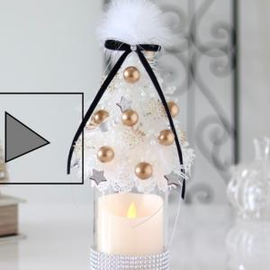 クリスマスツリーの動画アップ〜!