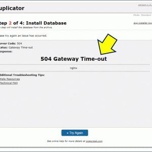 Nginx リバースプロキシ配下の Webサーバーで 504 Gateway Time-out エラー