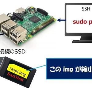 Raspberry Pi Perlスクリプトによる SDカードの縮小