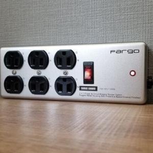 固定いらず!置くだけで安定の電源タップ、Fargo AC6個口。