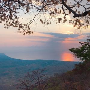 マラウイ湖を一望できるチョンベプラトー