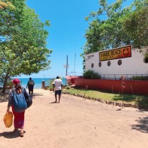 マラウイの穴場スポット 白い砂浜 カンデビーチ