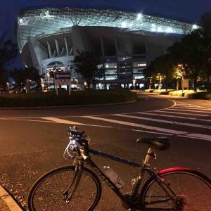 埼玉スタジアムまでサイクリング。122号を自転車で走るのは気をつけてください!