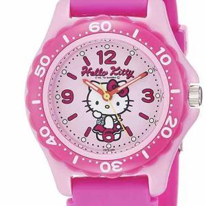 4歳の娘にキティちゃんの腕時計を購入。新しいアイテムでウキウキです。