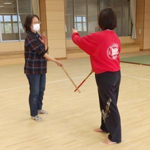 第77回獅子クイーン カリ訓練