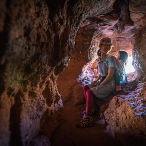 虹色の風が吹き抜けるWind Cave