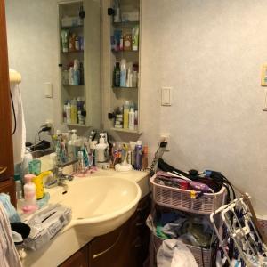 片付けビフォーアフター8・洗面所~息子の部屋を作ってあげたい!