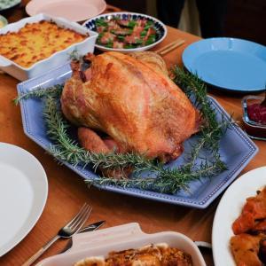 2019年の感謝祭ディナー。