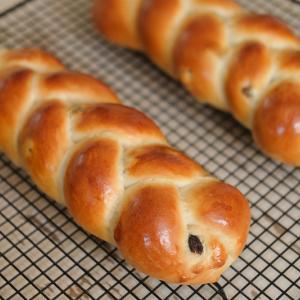 辻調・製パン技術講座 – 第14課 ストレート法『ツォップフ』。