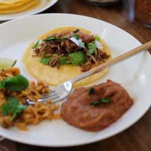 カニータス・タコス – 「おうちメキシコ料理」は意外とヘルシーです♪