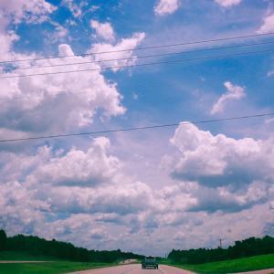 みんなに見て欲しい『テキサスの空』&長男の引っ越し先。