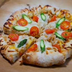 夢のようなピザ生地レシピに出会いました❤