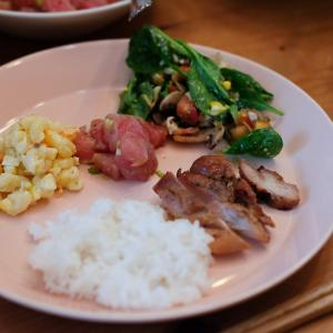 独立記念日のパーティ(ディナー編)@わが家。ハワイアンフードディナー。