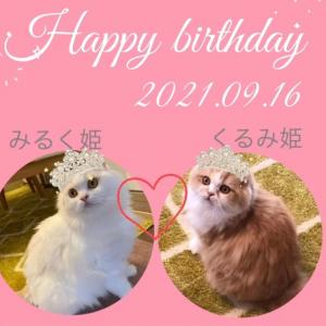 (๑˃͈꒵˂͈๑)(*˙꒳˙*)4歳Birthday♡♡