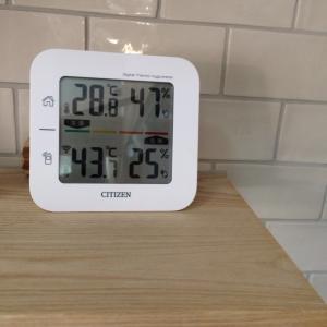 ベランダの温度がヤバめ