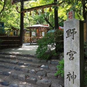 京都府  (京都市)     野宮神社