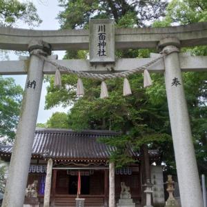 兵庫県  (宝塚市)    川面神社