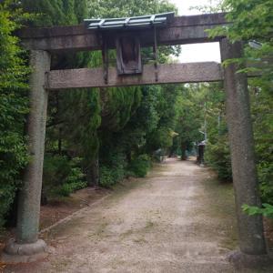京都府  (久世郡)   荒見神社  &  式内室域神社