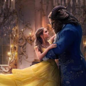 美女の黄色と野獣の青