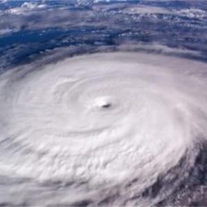 台風の気圧による身体の変化