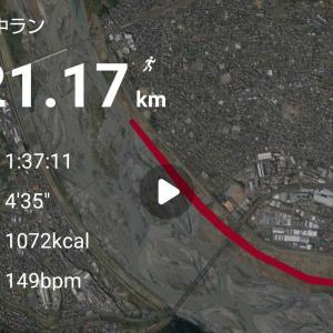 【速報】第5回静岡・大井川Trial Marathon Half