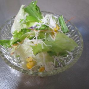 カット野菜で簡単ミックスサラダ