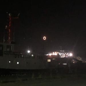 【夜釣り】苫小牧西港 台風19号直前