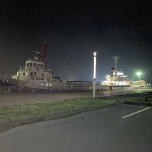 【夜釣り】苫小牧西港北埠頭 初ソイ