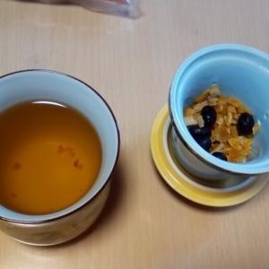黒豆陳皮茶