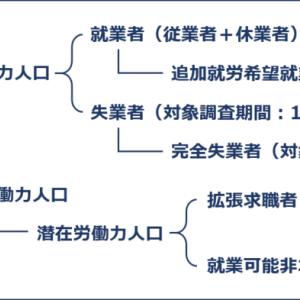 経済学・経済政策 ~H25-1 主要経済指標(8)労働力調査~