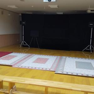 松戸市内保育園さんで「三枚のおふだ」公演でした!