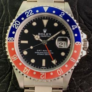 ROLEX ロレックス GMTマスター 16700 U番