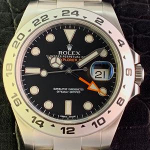 ROLEX ロレックス エクスプローラーII 216570 BK