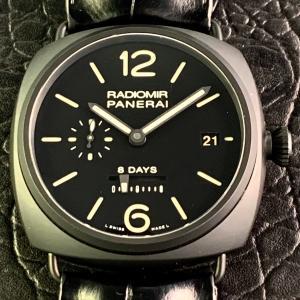 PANERAI パネライ ラジオミール 8デイズ セラミカ PAM00384 N番