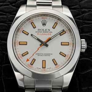 ROLEX ロレックス  ミルガウス  116400 (ホワイト) M番
