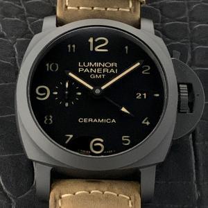 パネライ ルミノール 1950  3デイズ GMT  セラミカ  PAM00441 S番
