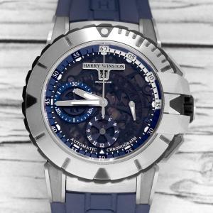 ハリーウィンストン オーシャン スポーツ クロノグラフ ザリウム OCSACH44ZZ007