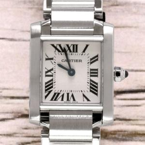 Cartier カルティエ タンクフランセーズ SM W51008Q3