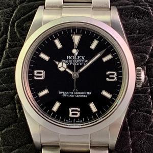 ROLEX ロレックス エクスプローラーⅠ 114270 P番