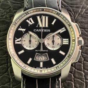 Cartier カルティエ カリブル ドゥ カルティエ クロノグラフ W7100060