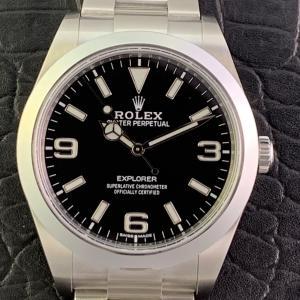 ROLEX ロレックス エクスプローラー 214270【保護シール付き未使用】