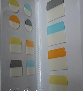 ペタペタ貼るコレクションと隠せるメモ付き付箋紙MUJI