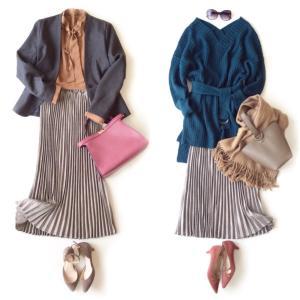 しまむら購入品  [新作] まるでタイトスカートのようなプリーツスカート
