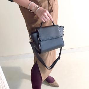 しまむら購入品 秋冬コーデの主役級バッグ