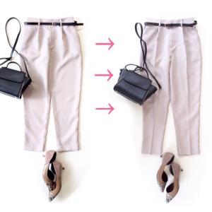 しまむら 購入品パンツのセンタープレス方法