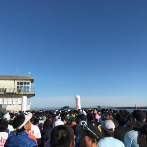 01/19 木曽三川マラソン(ハーフ)出走