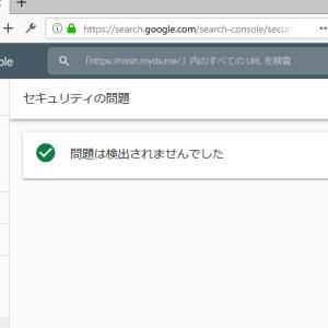 SearchConsole  セキュリティの問題