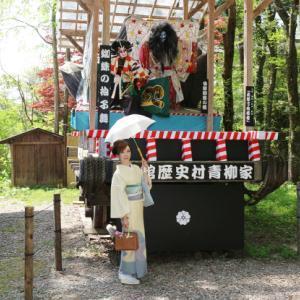 2015ぐるりみちのく東北旅行(5)波千鳥の赤城紬で 秋田角館・岩橋家へ