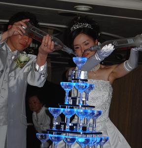 友人の船上クルージング結婚式♪